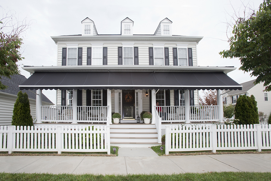 Image of: Nice Porch Awnings For Home