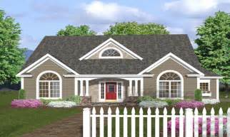 Image of: One Story House Plans With Wrap Around Porch Picture