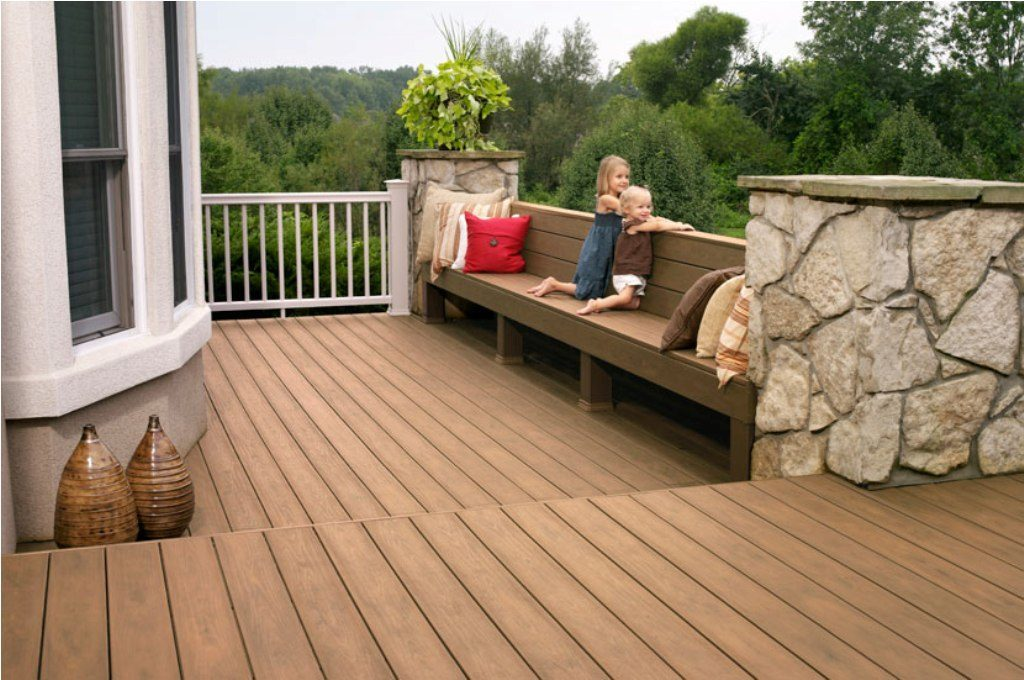 Image of: Outdoor Composite Porch Flooring