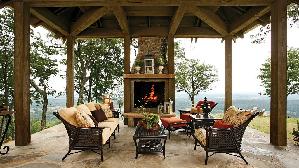 Image of: Outdoor Fireplace Log Grates