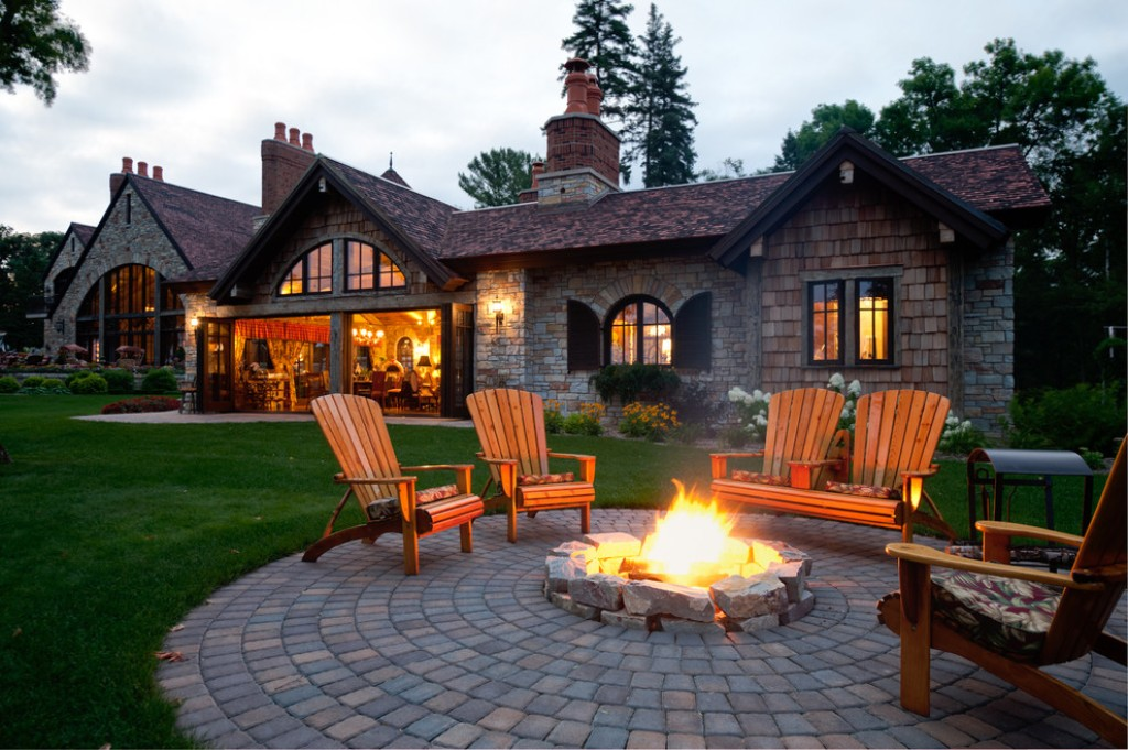Outdoor Fireplace Screens Large
