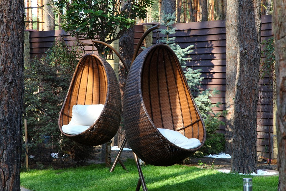 Image of: Outdoor Hanging Porch Chair