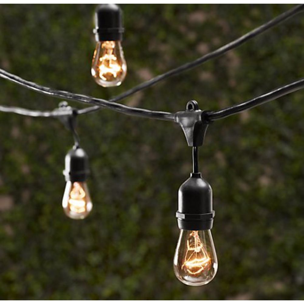 Image of: Outdoor Porch Lights String