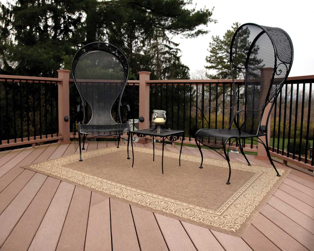 Image of: Outdoor Porch Rugs Floor