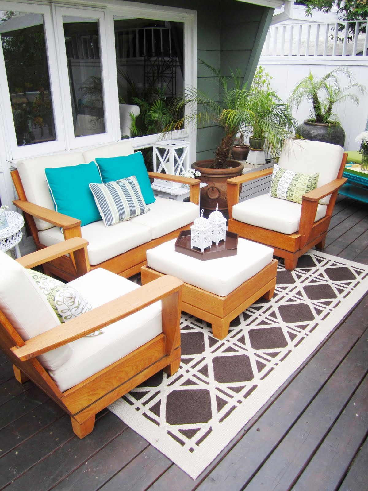 Image of: Outdoor Porch Rugs Ideas