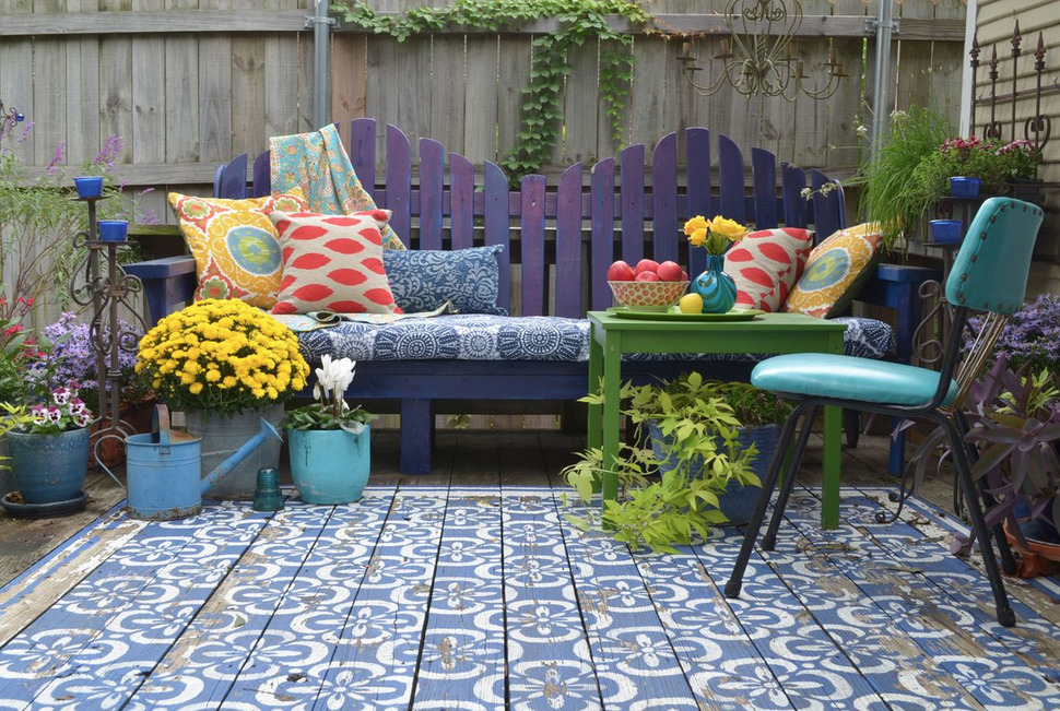Image of: Outdoor Porch Rugs Type
