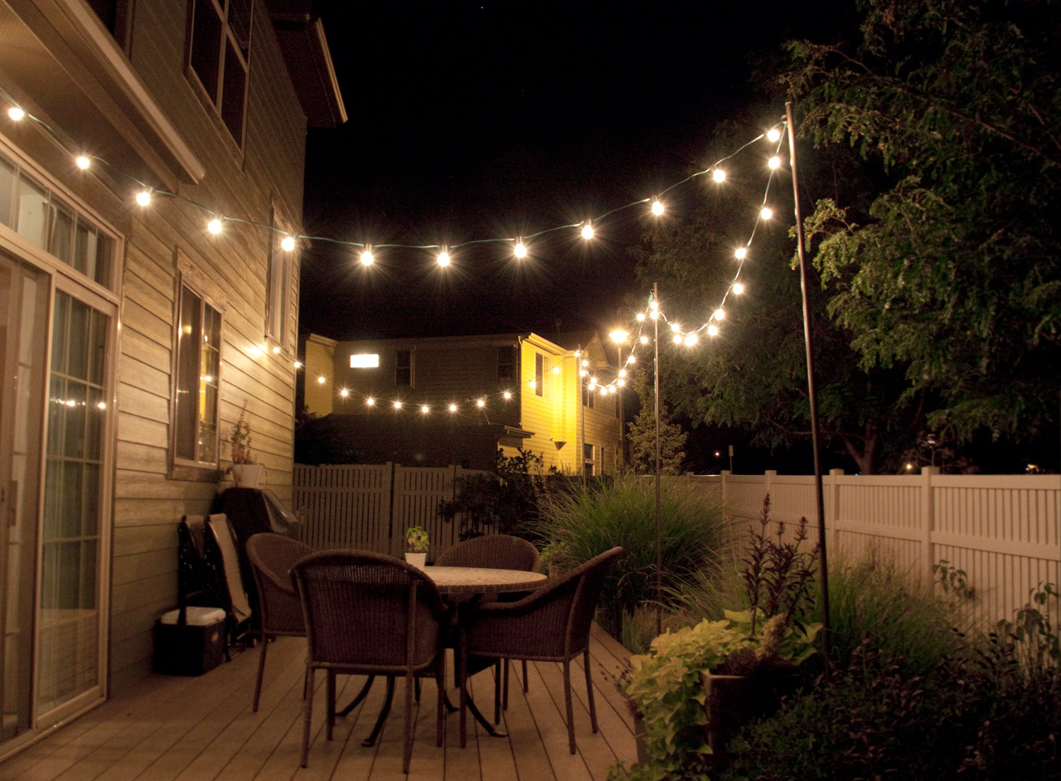 Image of: Outside Back Porch Lights