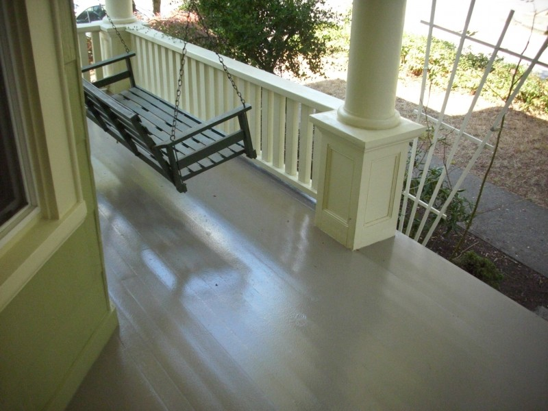 Image of: Painting Concrete Porch Colors