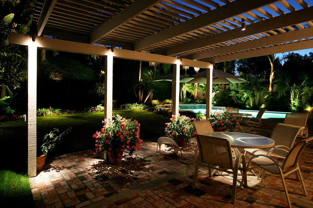Image of: Patio Motion Activated Porch Light