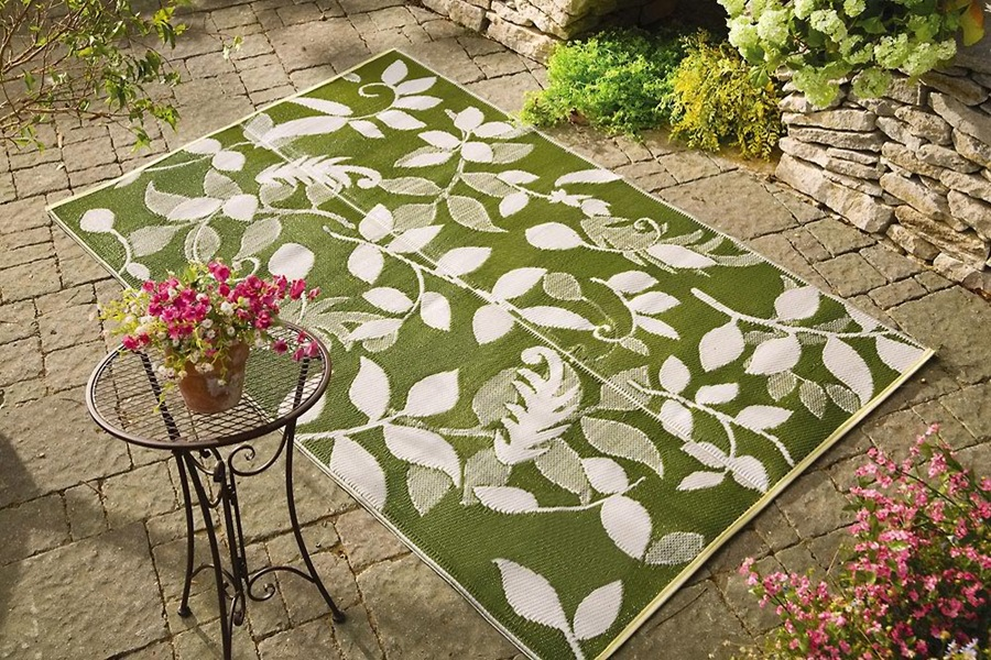 Image of: Patio Outdoor Porch Rugs