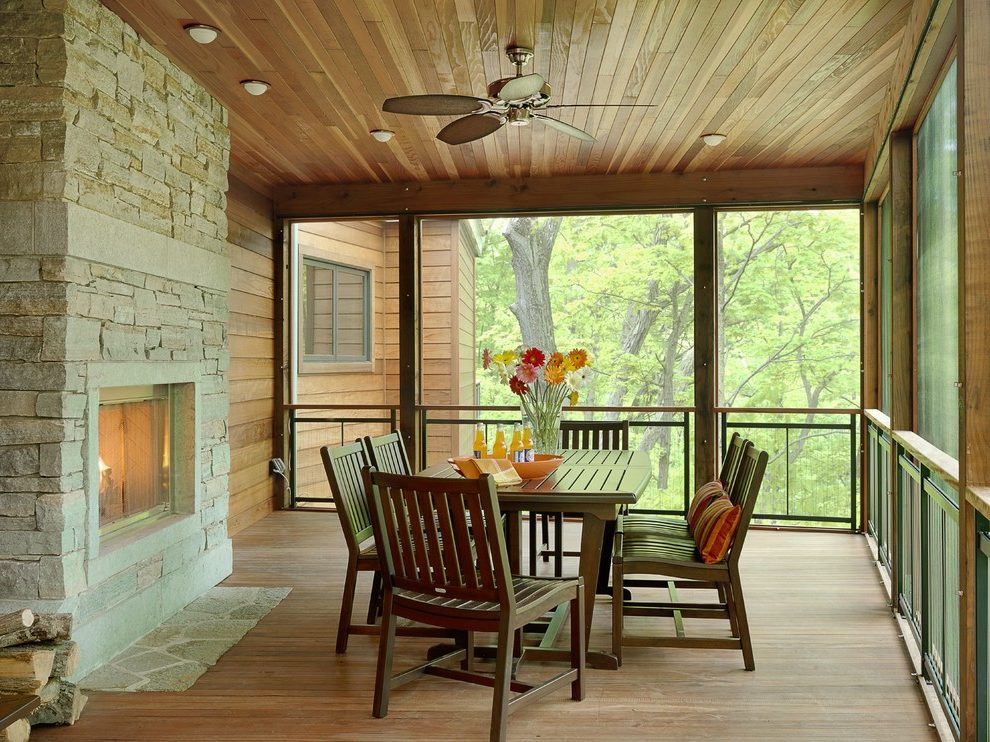 Image of: Perfect Acrylic Panels For Screened Porch