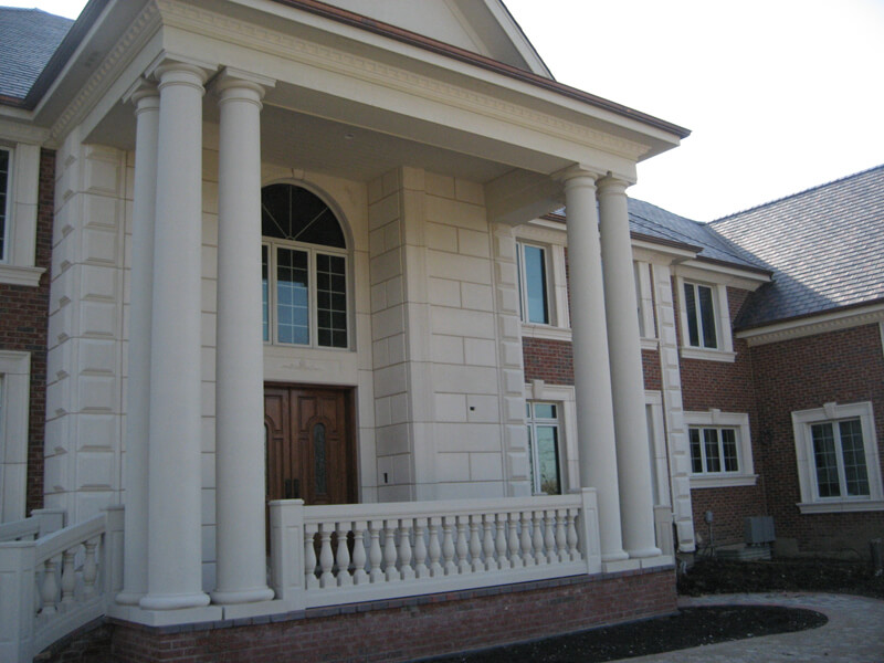 Image of: Perfect Columns For Porch
