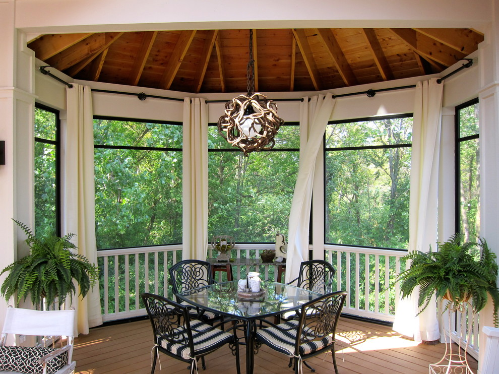 Image of: Perfect Outdoor Curtains For Porch