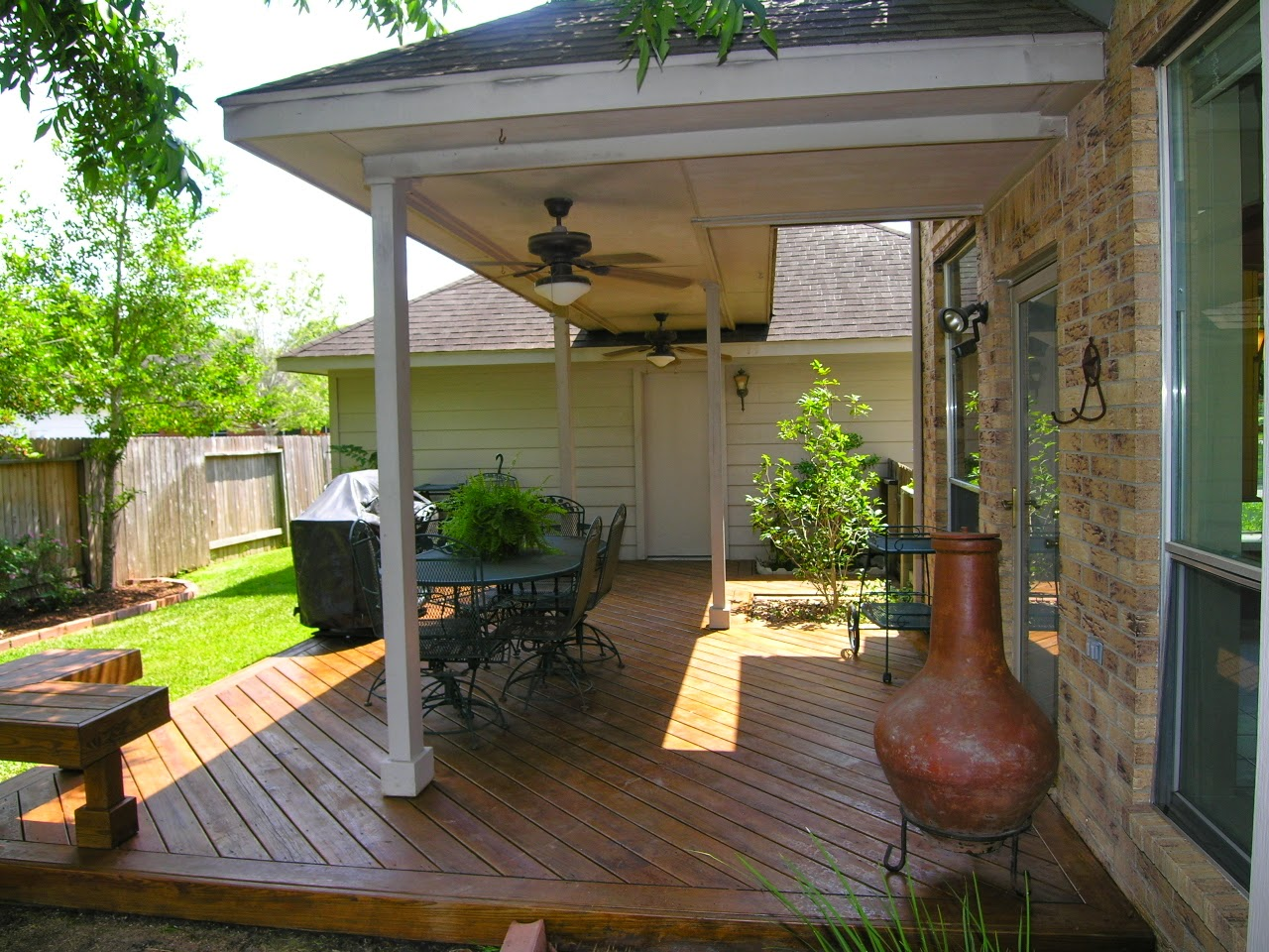Image of: Popular Backyard Porch Ideas