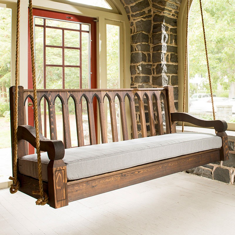 Image of: Popular Composite Porch Swing
