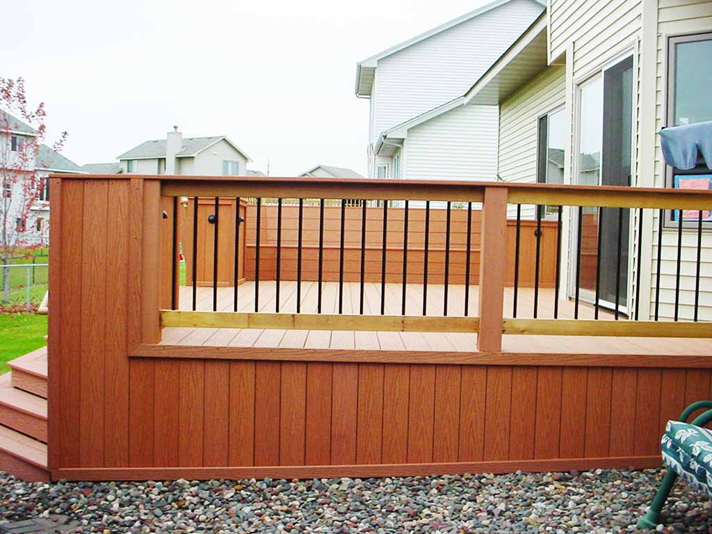 Image of: Popular DIY Porch Railing Ideas
