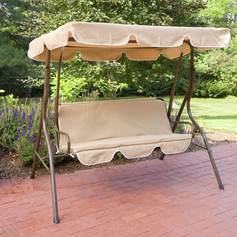 Image of: Popular Glider Porch Swing