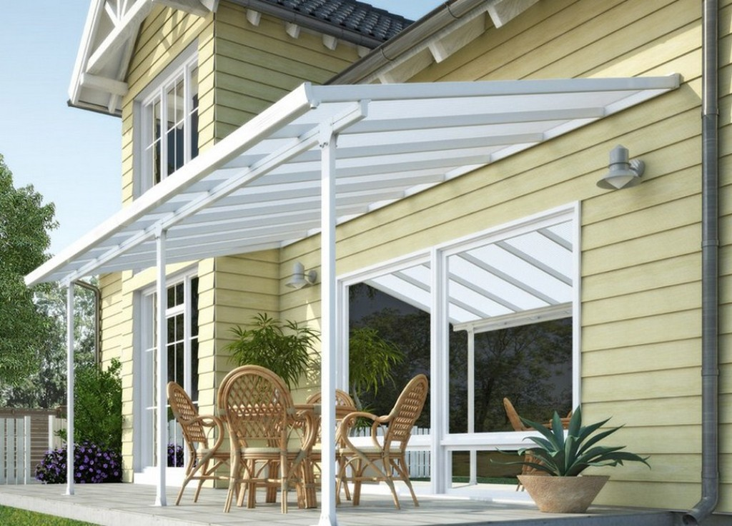 Image of: Porch Awnings For Caravans