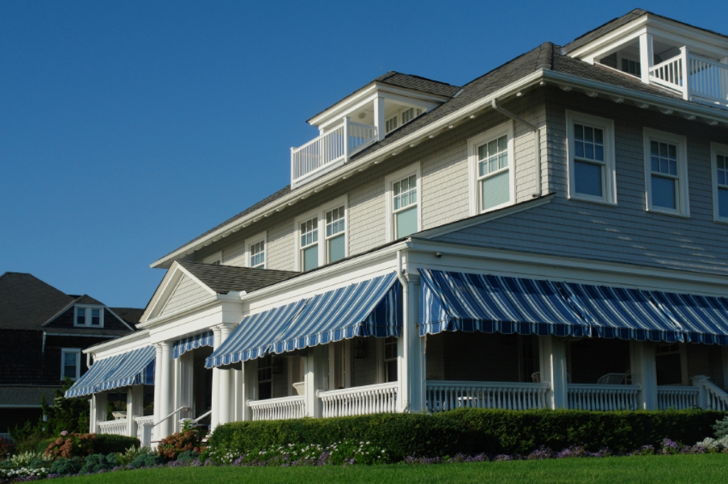 Image of: Porch Awnings For Mobile Homes