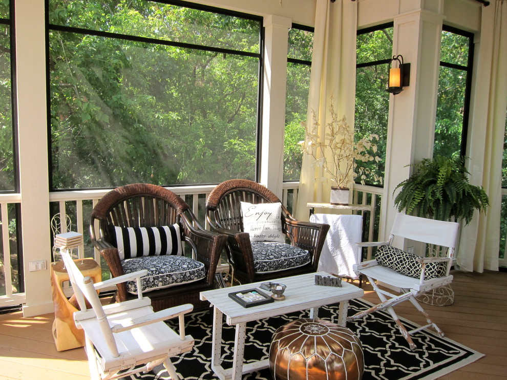 Image of: Porch Decor Ideas Enclosure