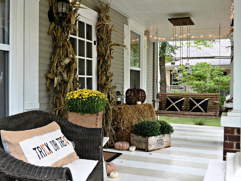 Image of: Porch Decor Ideas Nature