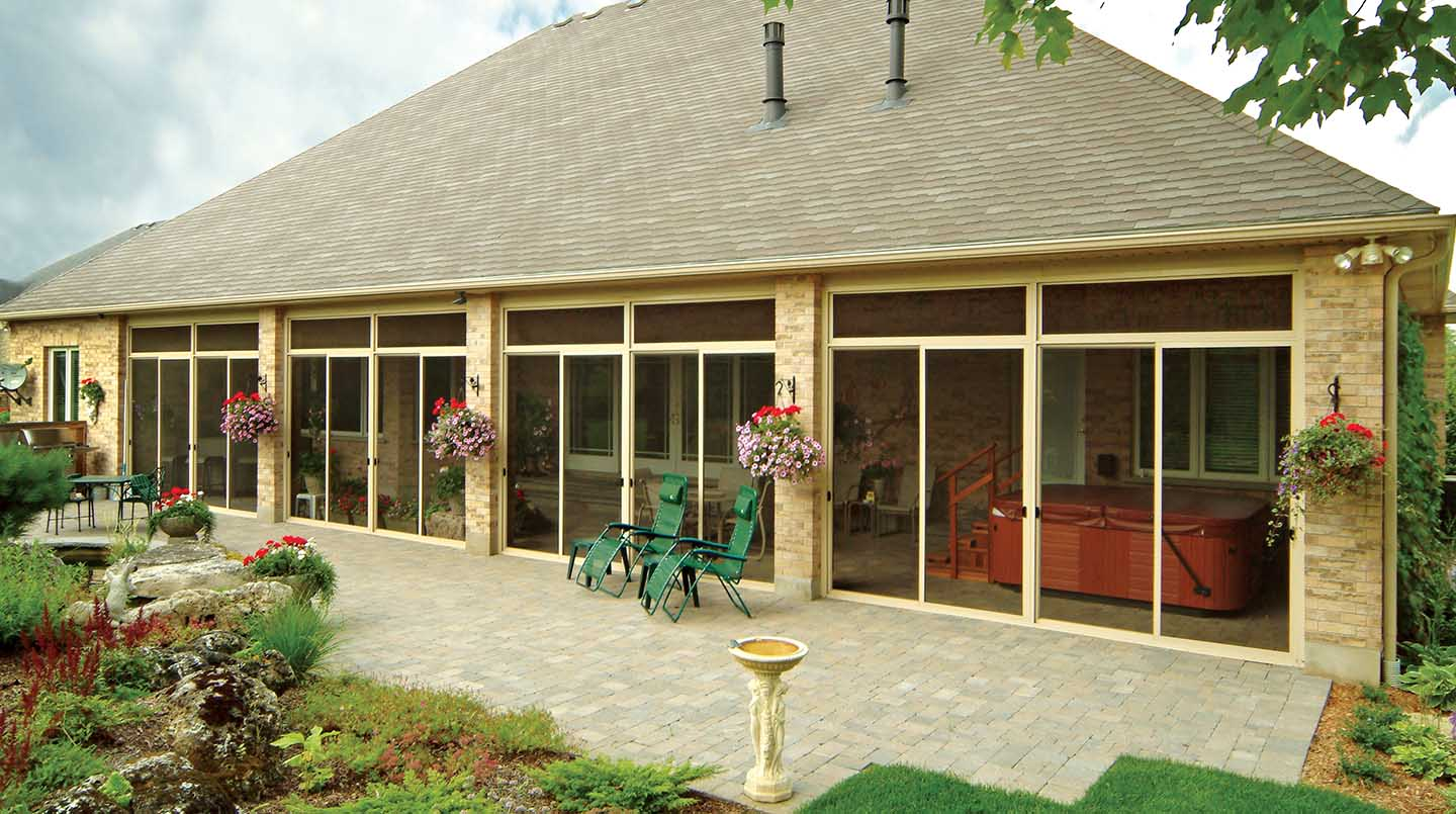 Image of: Porch Enclosures House