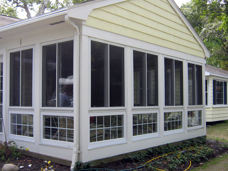 Image of: Porch Enclosures Type