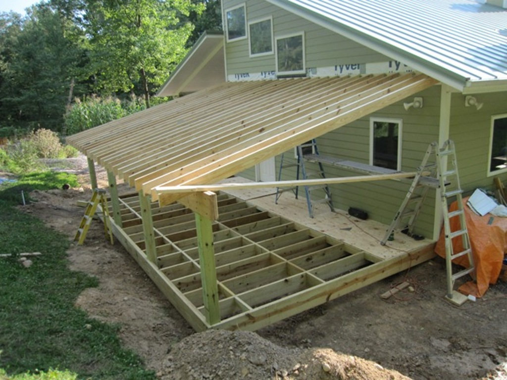 Porch Roof Framing Calculator