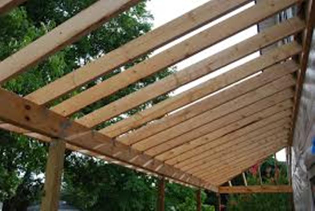Image of: Porch Roof Framing Design
