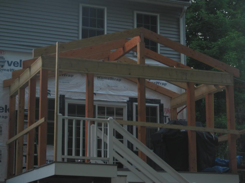 Porch Roof Framing Plans
