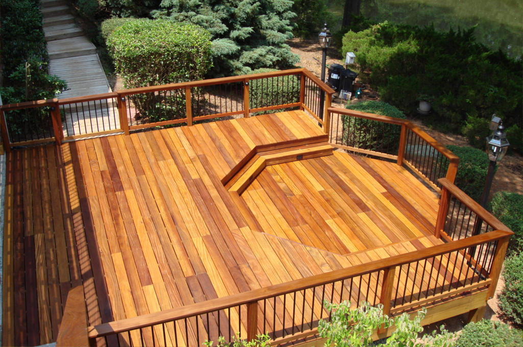 Image of: Porches And Decks Floor