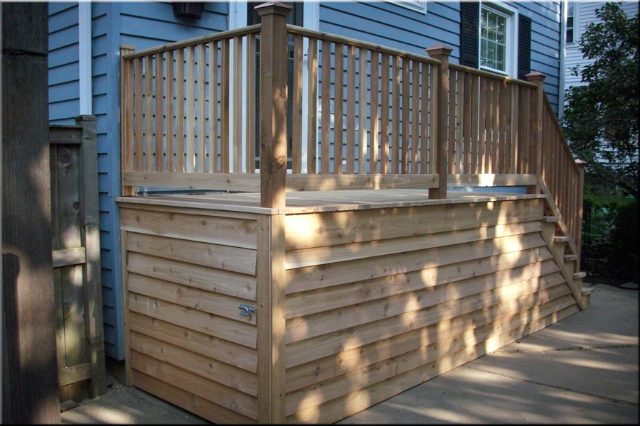 Image of: Porches And Decks Mini