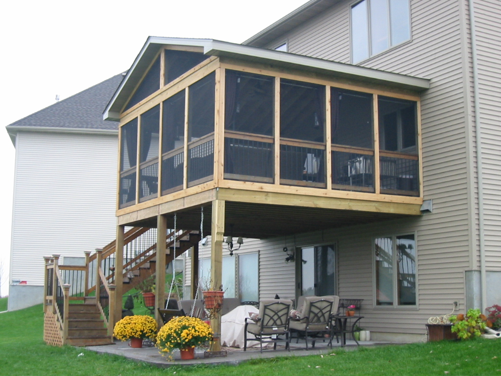 Image of: Porches And Decks