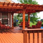 Red Porches and Decks