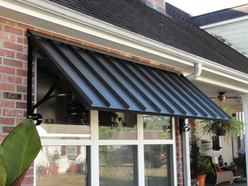 Image of: Residential Aluminum Porch Awnings