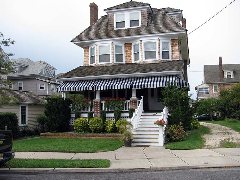Image of: Residential Porch Awnings For Home
