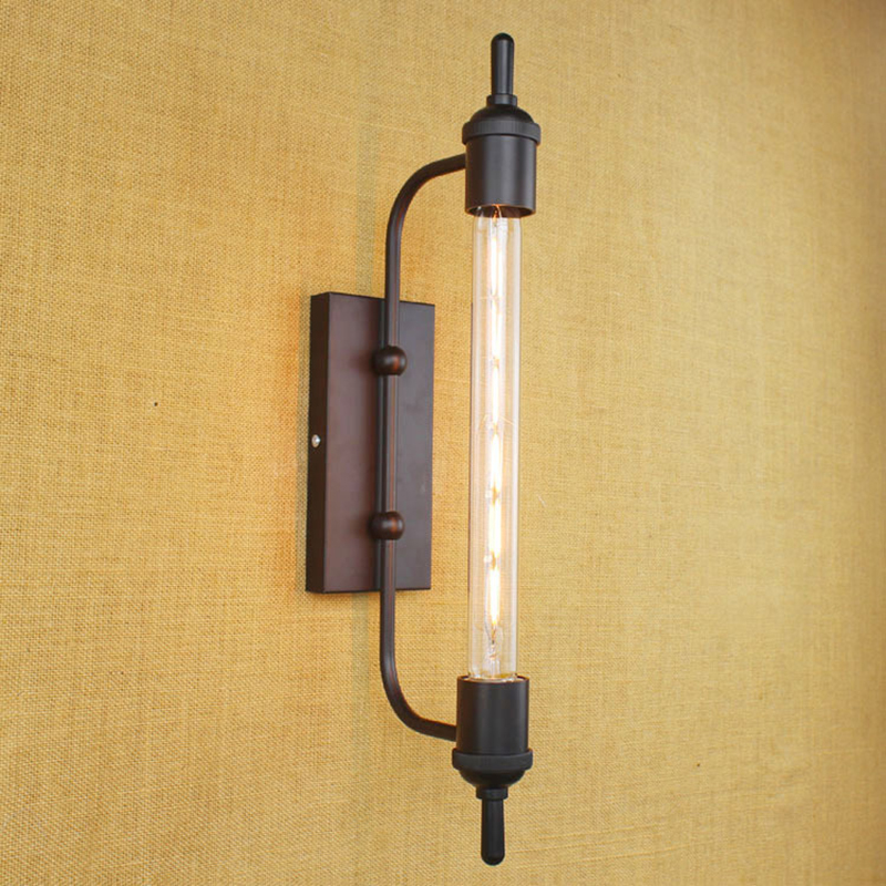 Image of: Retro Black Porch Light
