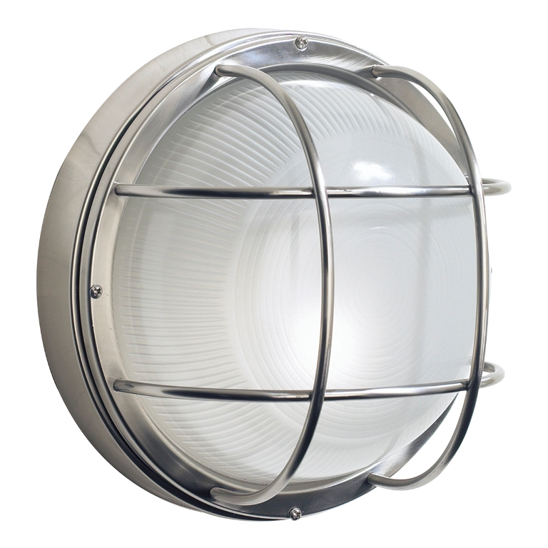 Image of: Round Exterior Wall Lights