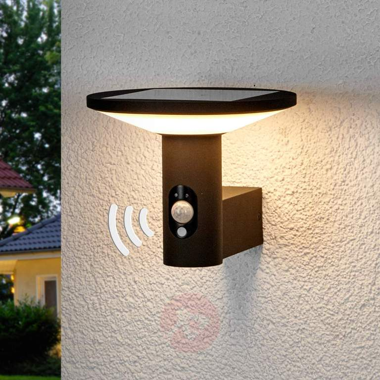 Image of: Round Outdoor Wall Light