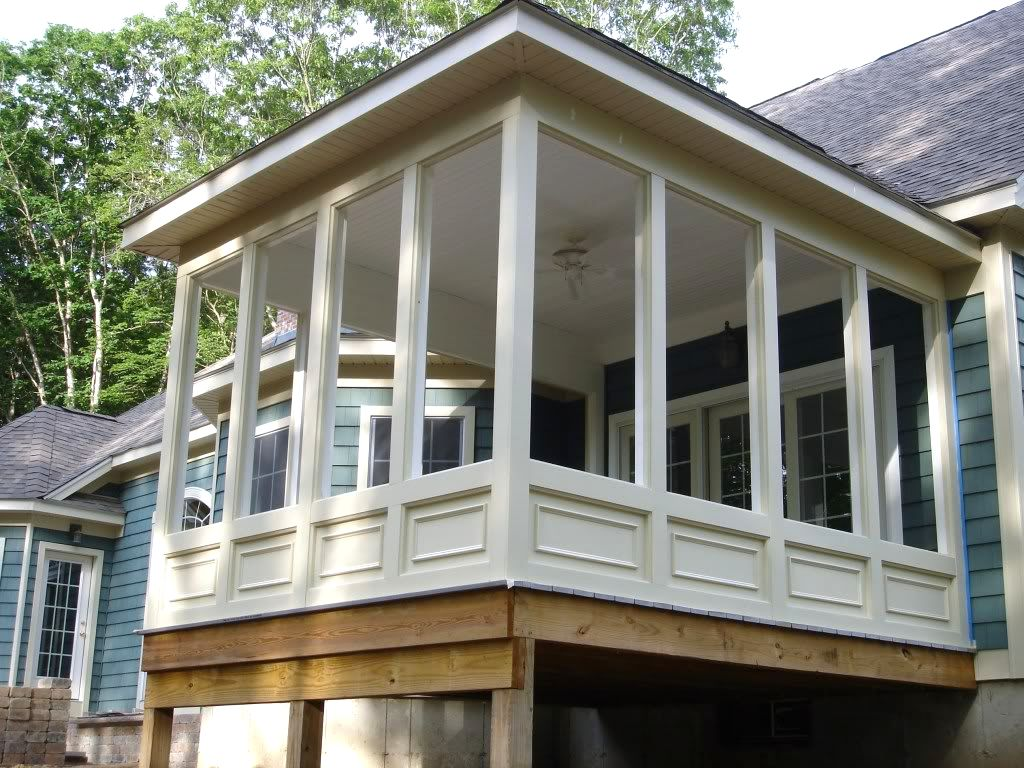 Image of: Screened In Porch Design Photos