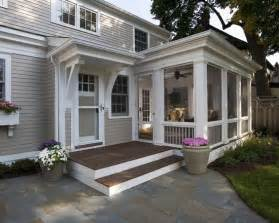 Image of: Screened In Front Porch Large
