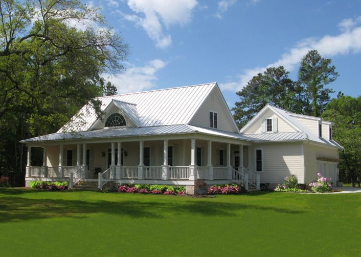 Simple Farmhouse Plans Wrap Around Porch
