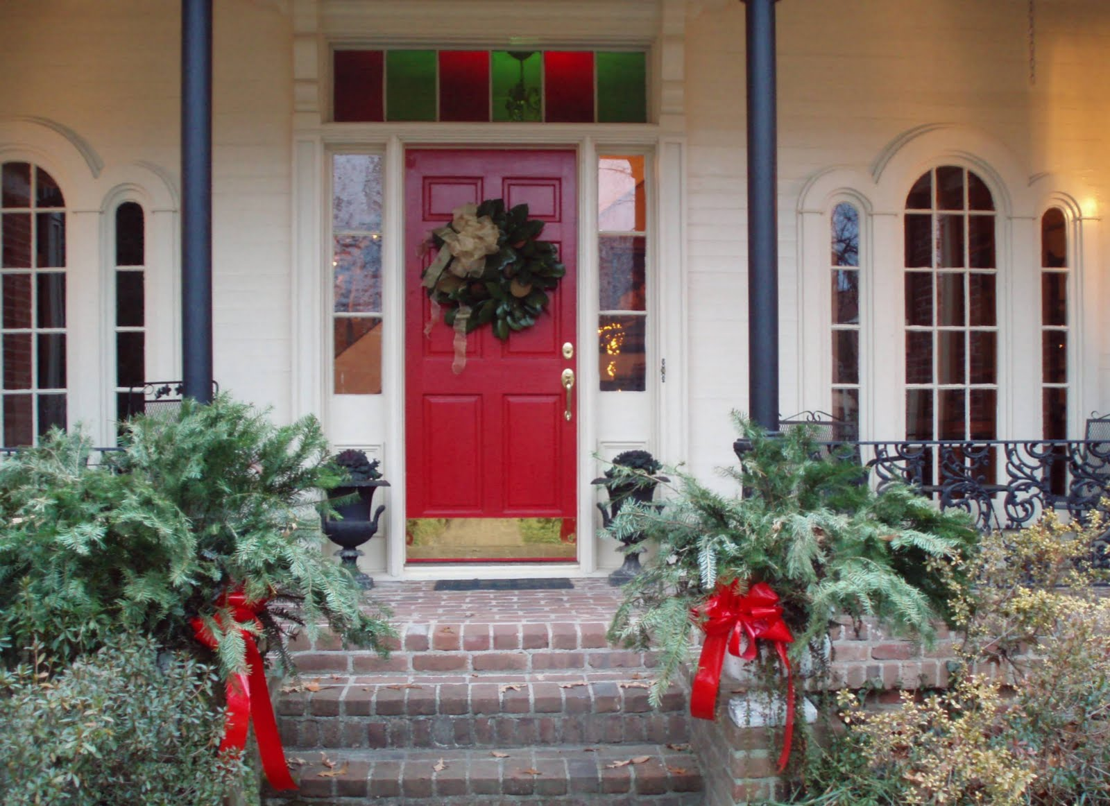 Image of: Simple Front Porch Decorating Ideas