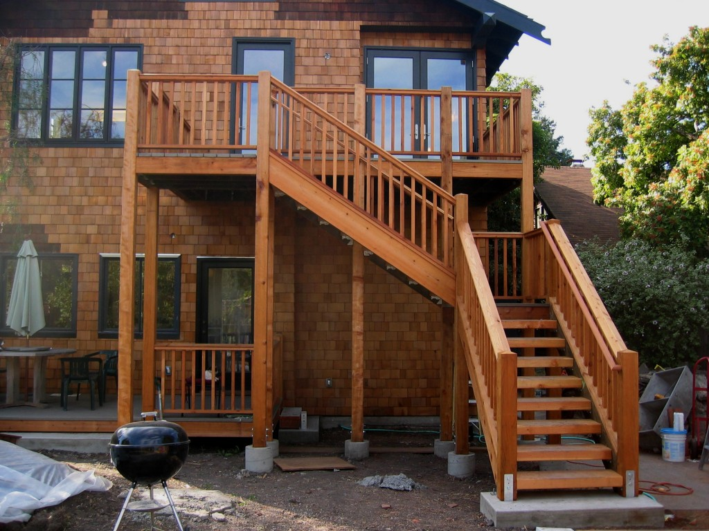 Image of: Simple Handrails For Porch Steps