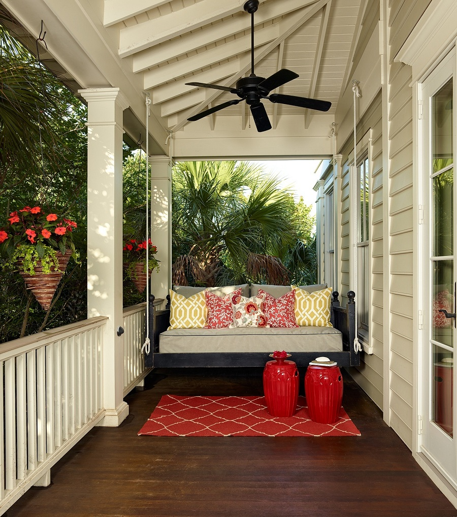 Image of: Small Best Porch Swing