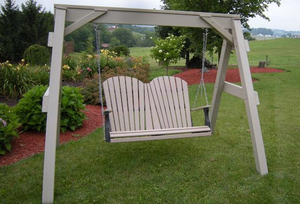 Image of: Small Composite Porch Swing