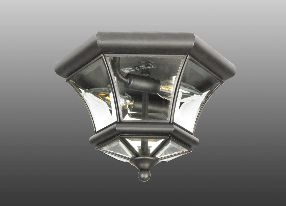Image of: Small Flush Mount Porch Light