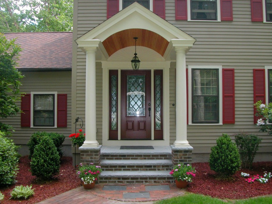 Image of: Small Front Porch Hanging Light