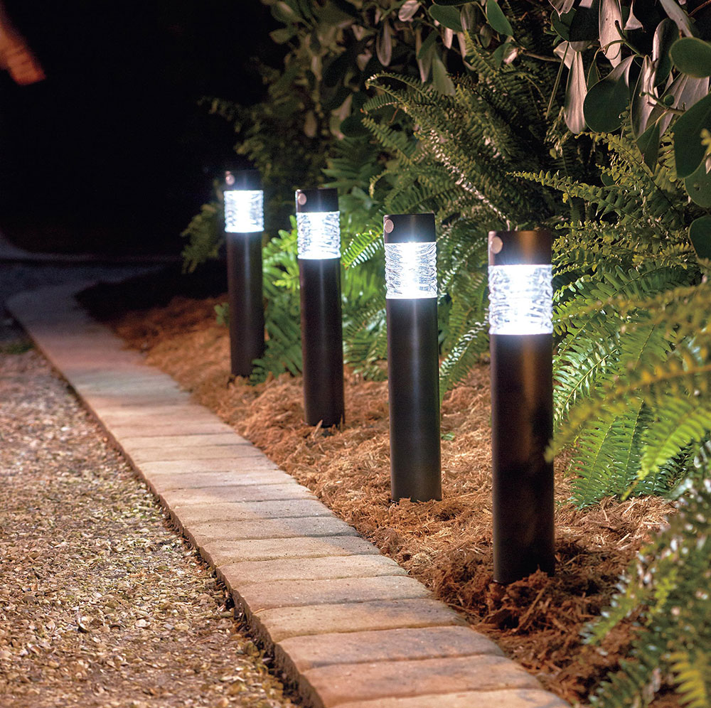 Solar Motion Activated Porch Light