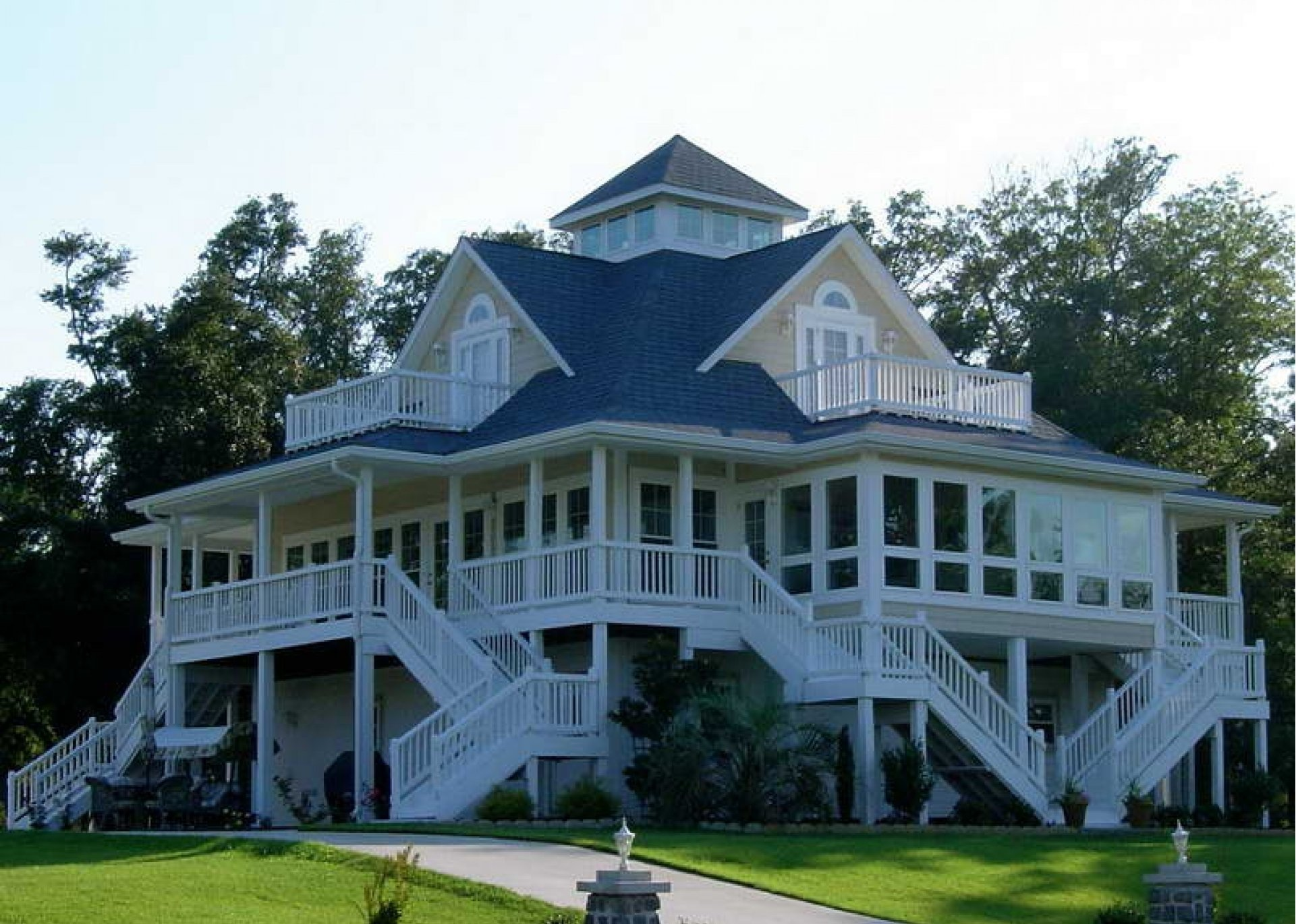 Style Farmhouse Plans Wrap Around Porch